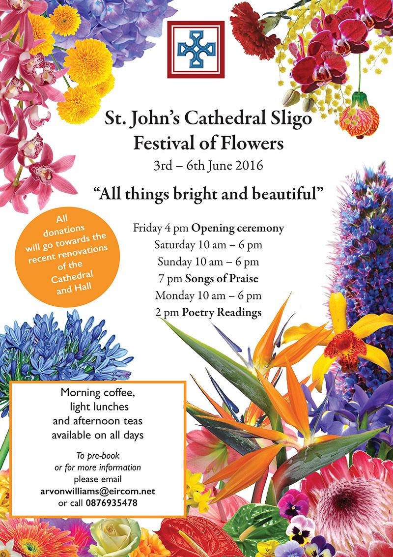 Flower Festival - St John's Cathedral, Sligo - 3-6th June 2016