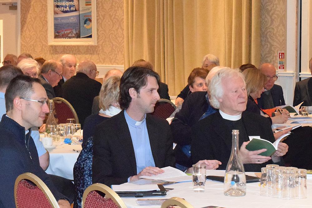 Rev Nick Jones, REv Ian Horner, Canon David Catterall